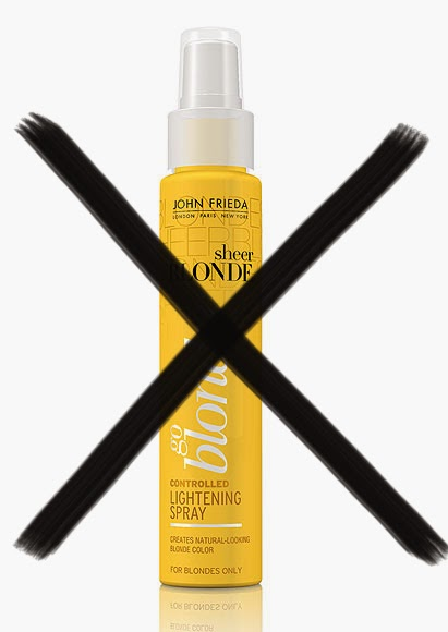 Do Not Use John Frieda Go Blonder Lightening Spray