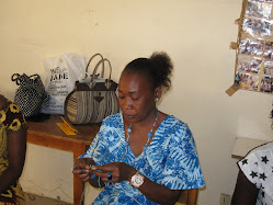 Madame Ndiaye Formatrice en Broderie et Tricot