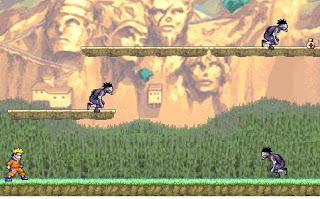 Permainan Naruto Pertempuran Di Darat