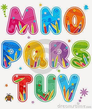 Desenhos para colorir e imprimir alfabeto para colorir - Letras decoradas infantiles ...