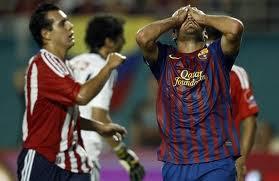 barcelona perdio por goleada