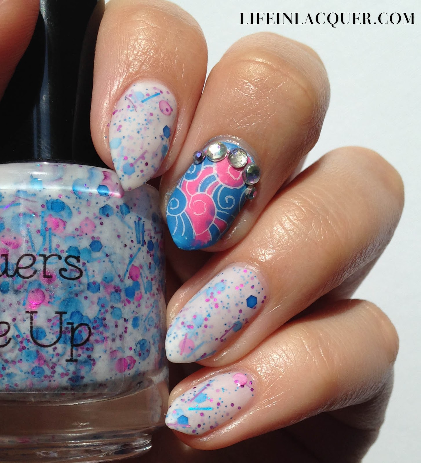 Fantasy Stamping Nail Art indie sick lacquers
