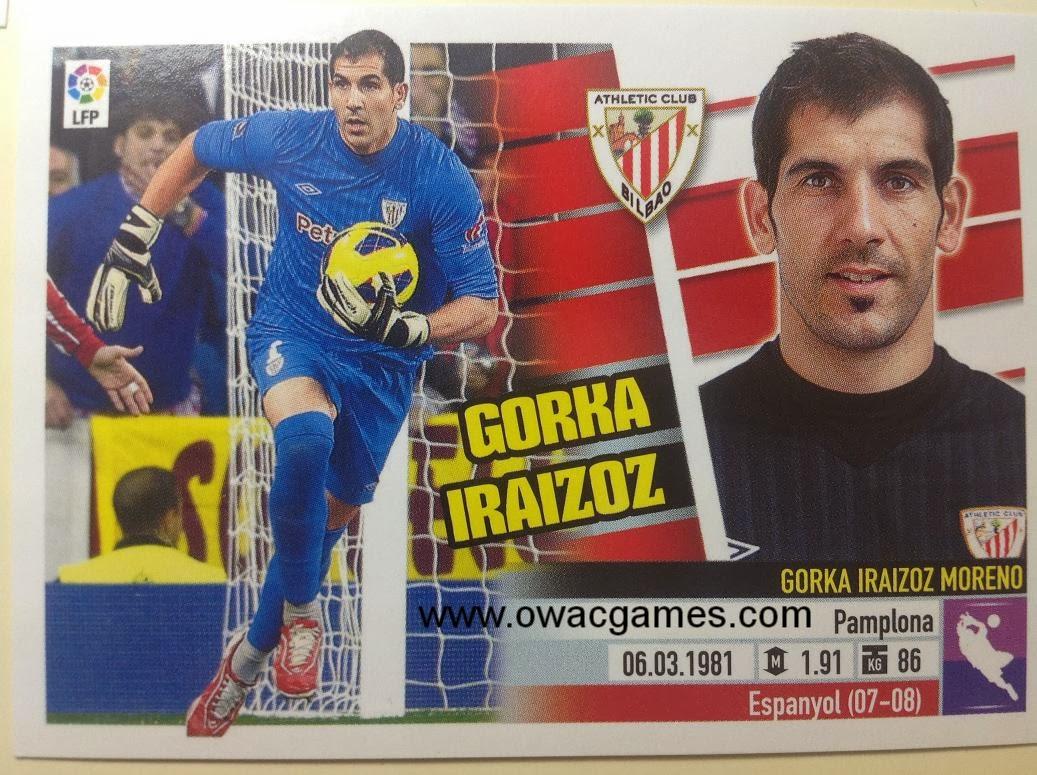 Liga ESTE 2013-14 Ath. Bilbao - 1 - Gorka Iraizoz