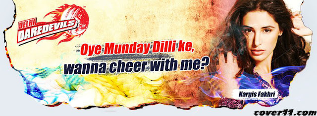 Delhi Daredevils Facebook Cover Photo