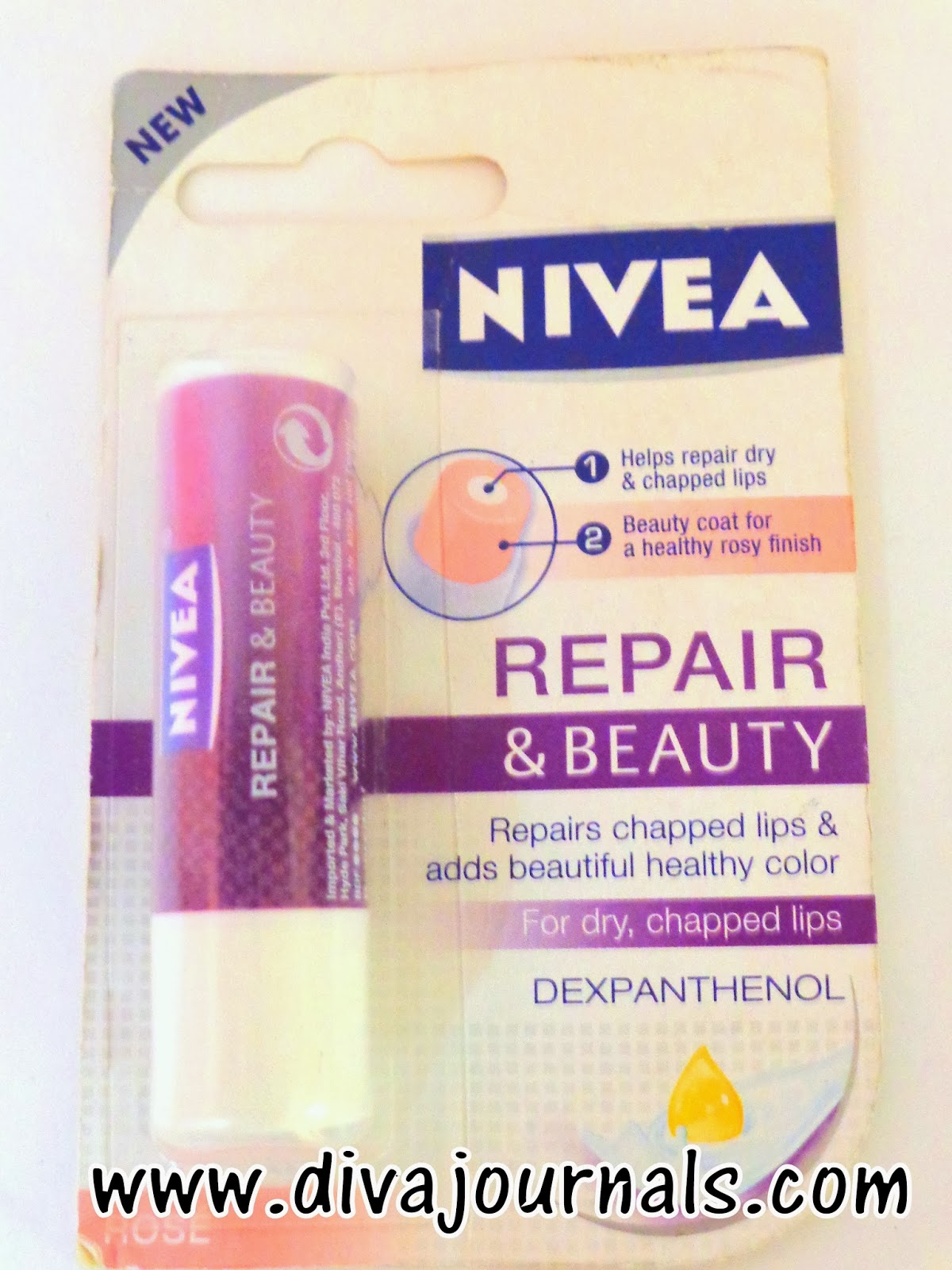 Nivea Repair& Beauty Lip Balms