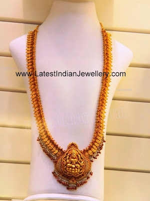 Temple Jewellery Kasu Haram