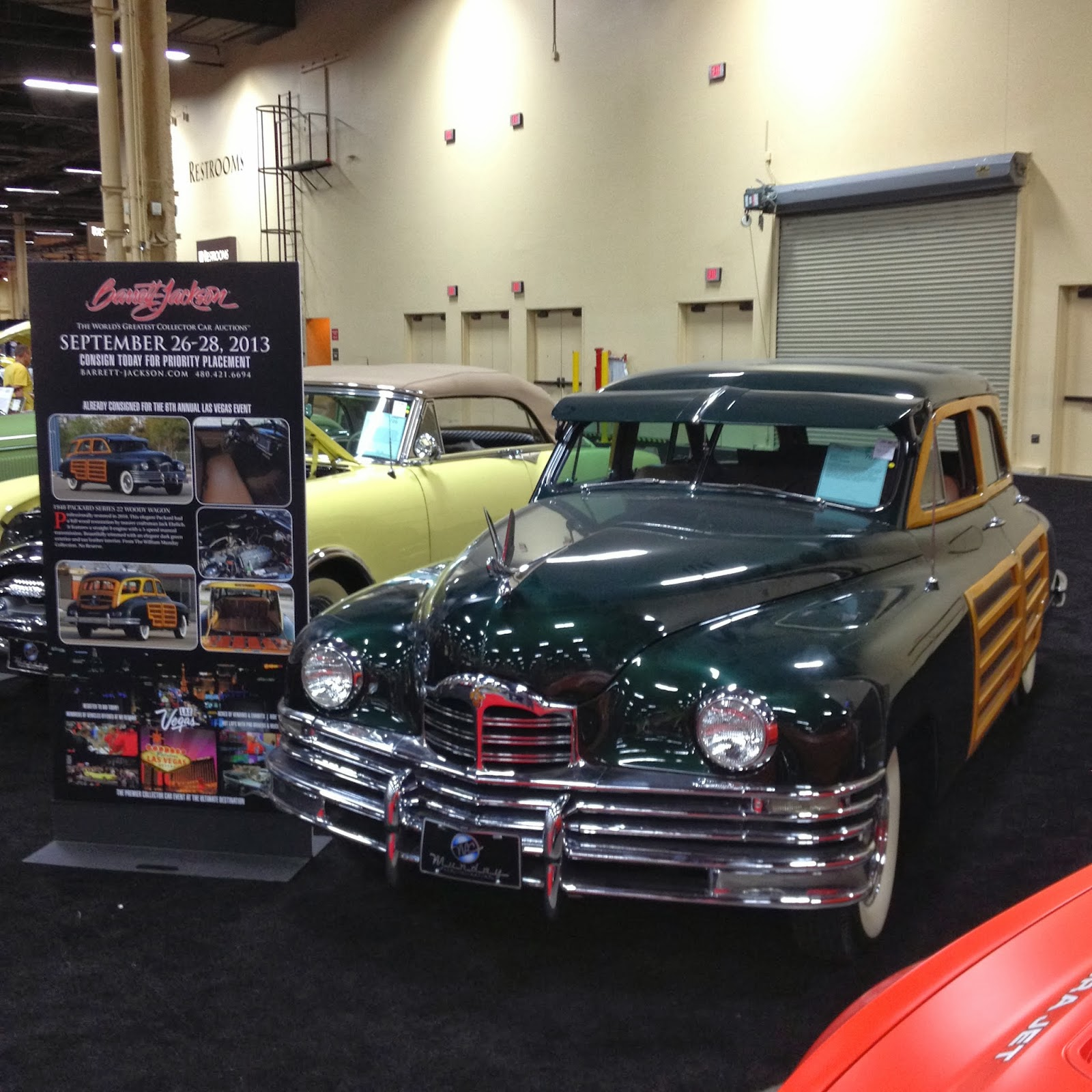 Covering Classic Cars : Up For Sale at Barrett-Jackson Las Vegas 2013