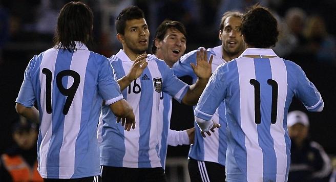 Copa America 2011 Messi Version