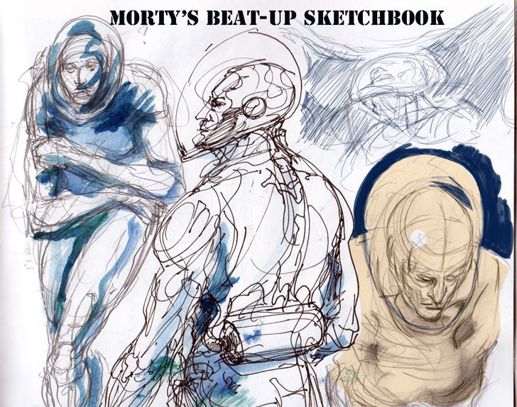 Morty's Beatup Sketchbook
