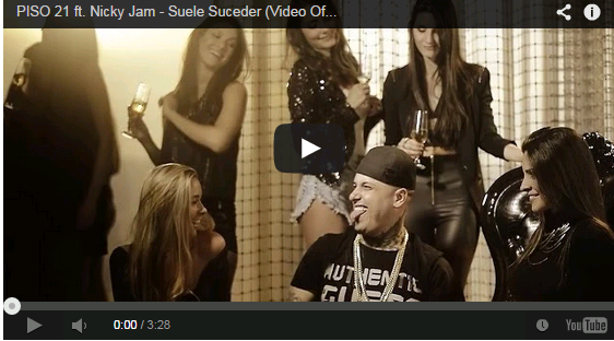 PISO 21 ft. Nicky Jam - Suele Suceder (Video Oficial)