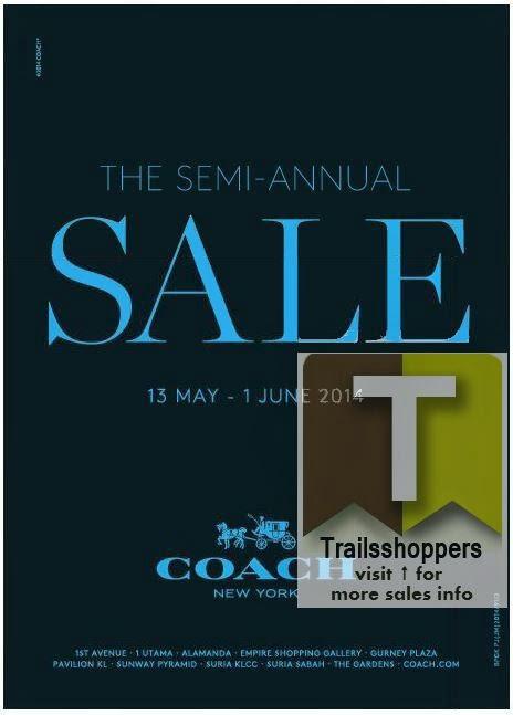 Semi-Annual Coach Sale Kuala LUmpur Coach - 1 Utama Shopping Centre
