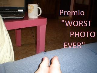 Premio Worst Photo Ever.