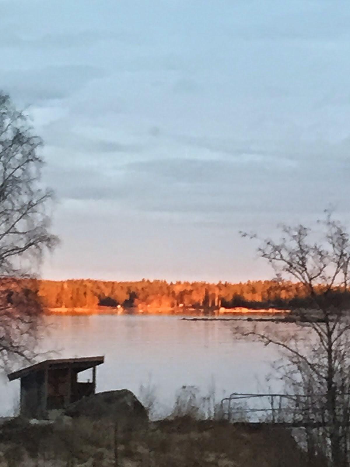 Kvällssol på andra sidan