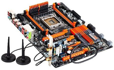 Gigabyte GA-X79-UD7 with Bluetooth 4.0 and WIFI card