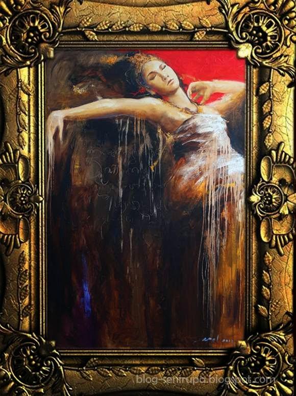 Lukisan I Wayan Apel Hendrawan