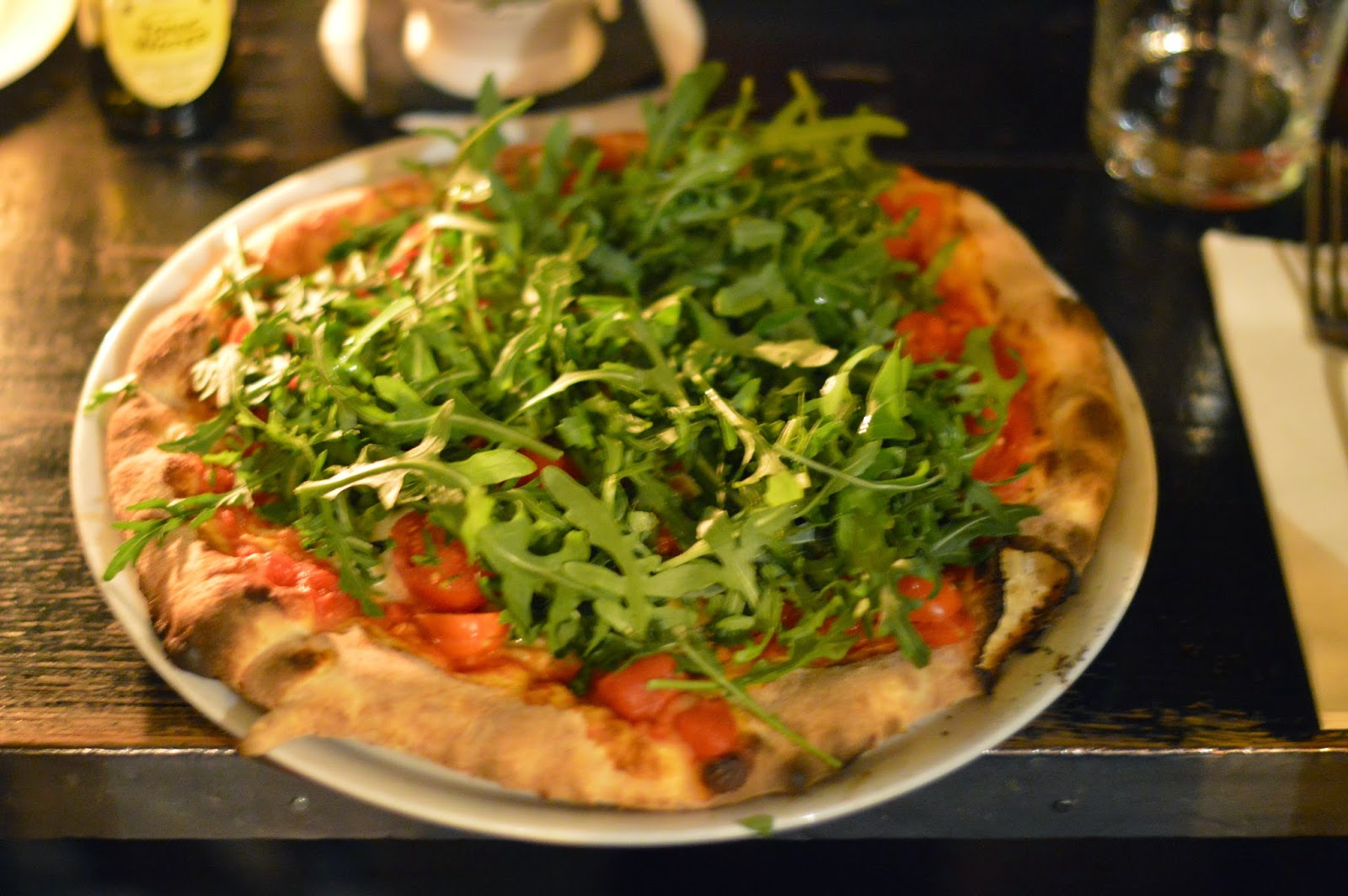 Grazie restaurant where to eat pizza in Paris