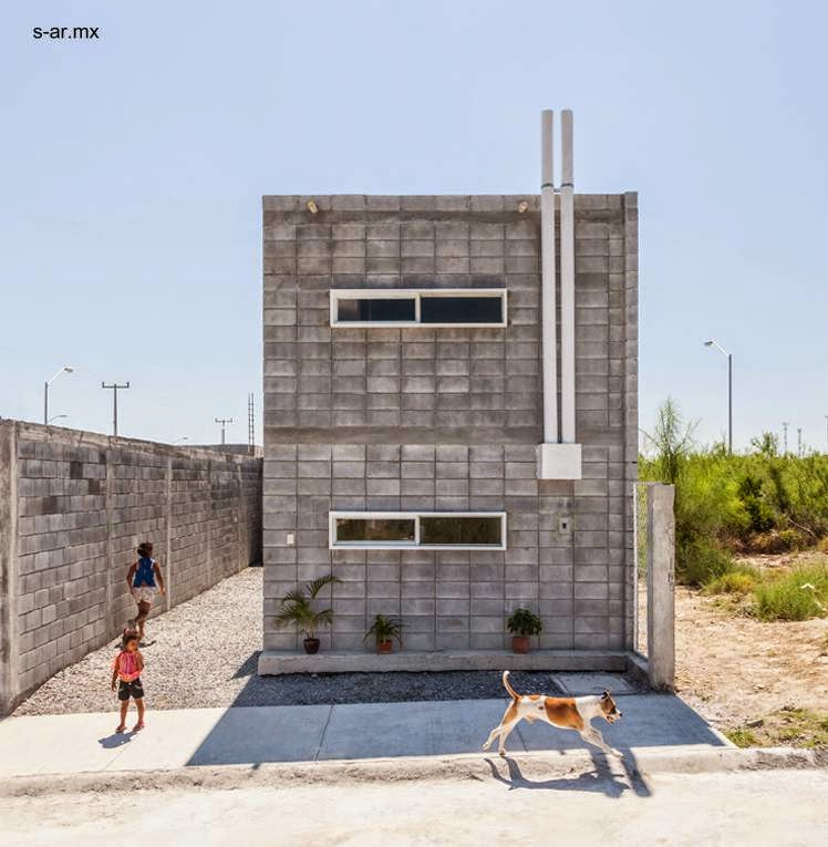 vivienda econmica de construccin rpida en mxico producida gracias a un programa comunitario