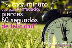 Cada minuto de felicidad...