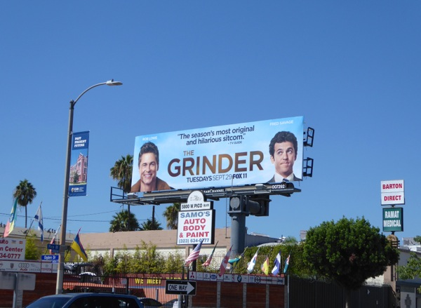The Grinder season 1 billboard