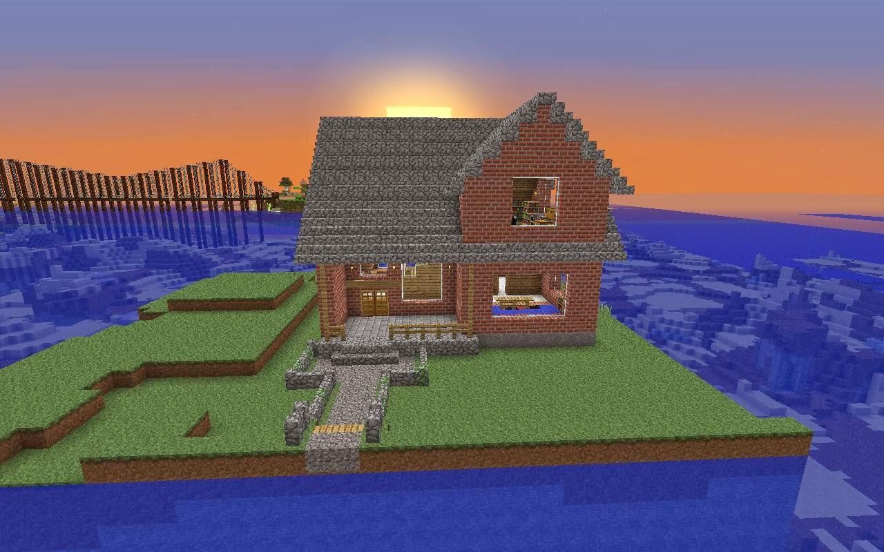 Simple kan ? (Kalau Menurut Saya Sih Simple XD ) & Rumah-Rumah Minecraft (Simple)   Aneka Macam Blog