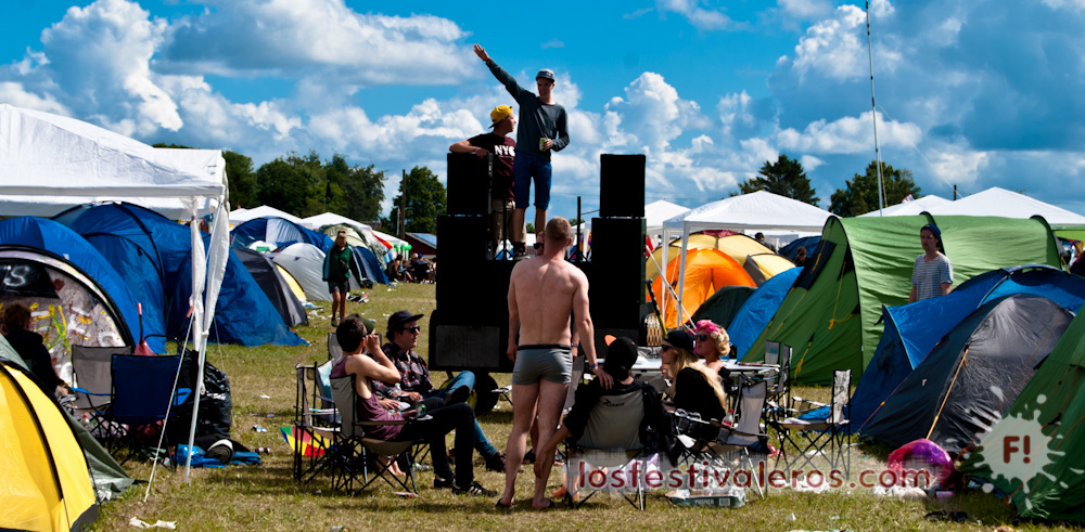 Roskilde Festival, 2014, Soundsystem, camping
