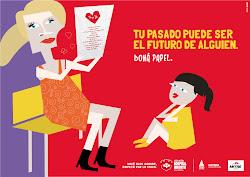 Campaña PAPEL SOLIDARO y de TAPITAS SOLIDARIAS del Hospital Infantil