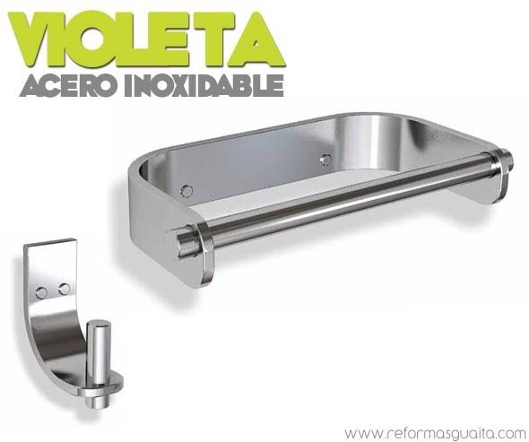 Accesorios De Baño Taberner:Coleccion VIOLETA de accesorios de baño ~ Reformas Guaita