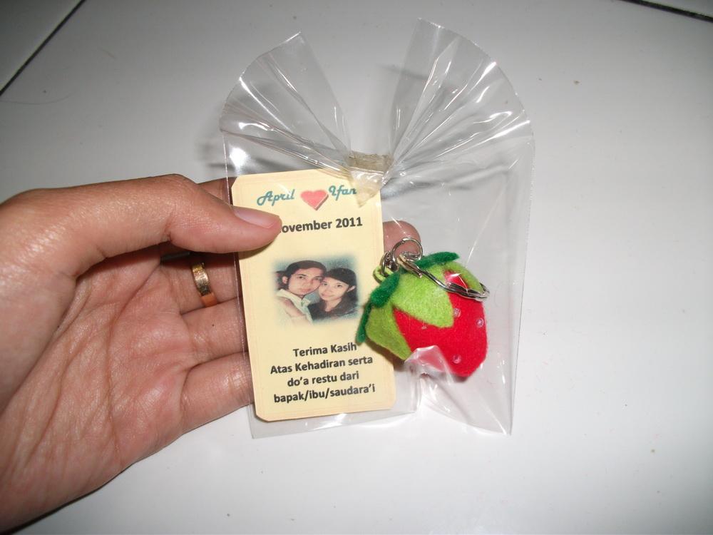 Souvenir Pernikahan yang dibuat dengan tangan, g pake mesin,