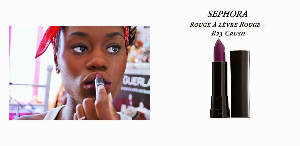 RAL, rouge à lèvre, sephora, maquillage peau noire