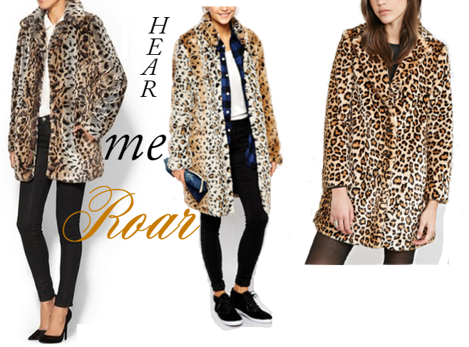 Leopard Print Fur Coat, Faux Fur Coats, Animal Print Fur Coats, Leopard Faux Fur Coar