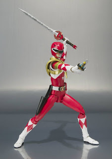 Bandai SH Figuarts Mighty Morphin Power Rangers Red Ranger Figure