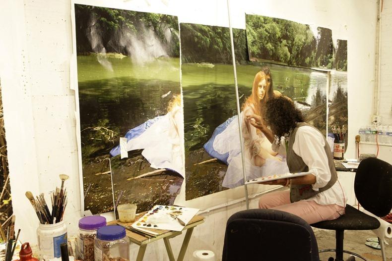 Doctor Ojiplático. Yigal Ozeri. Hiperrealismo. Pintura | Painting
