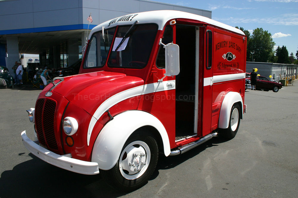 Spotted 1961 Divco Milk Truck The Car Hobby