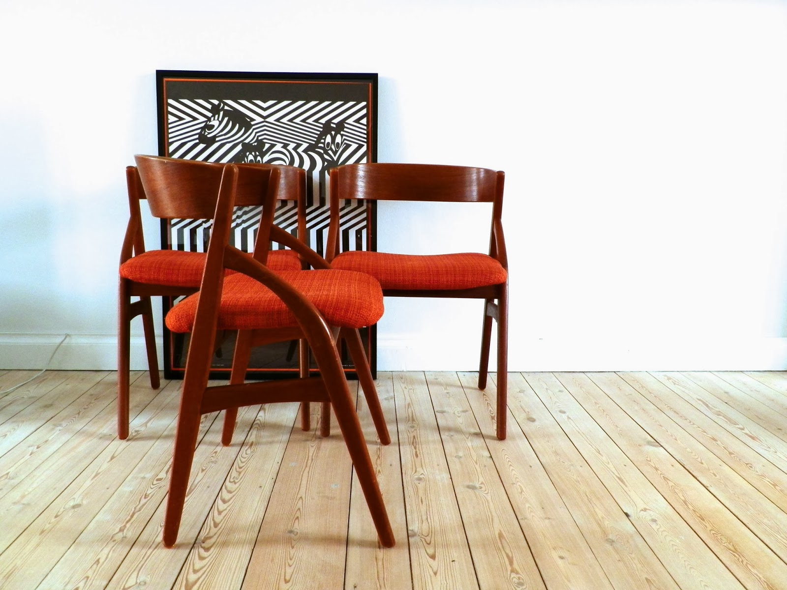 retro spisebordsstole