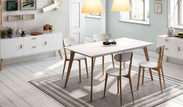 Arte h bitat tu tienda de muebles comedor estilo nordico for Habitat mesas comedor