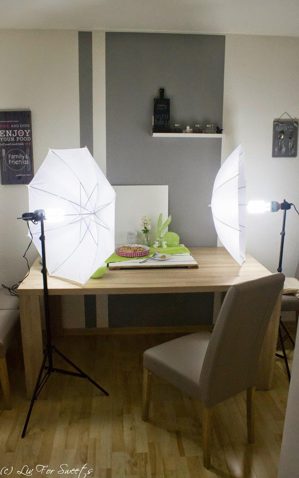 behind the screnes foodfotografie Durchlichtschirme Essen