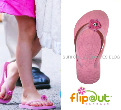 Kids Wearing Flip Flops And pink flip flops ($23.99)