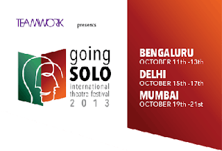 'Going Solo' International Theater Festival 2013