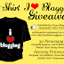 """T-SHIRT I ❤ BLOGGING GIVEAWAY!"""