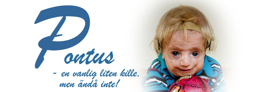 Pontus - en vanlig liten kille, men ändå inte!