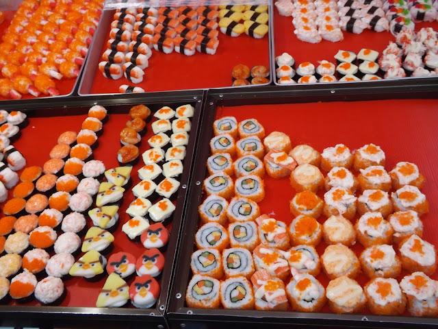 thaïlande, Ayutthaya, tamarind, night market, sushis