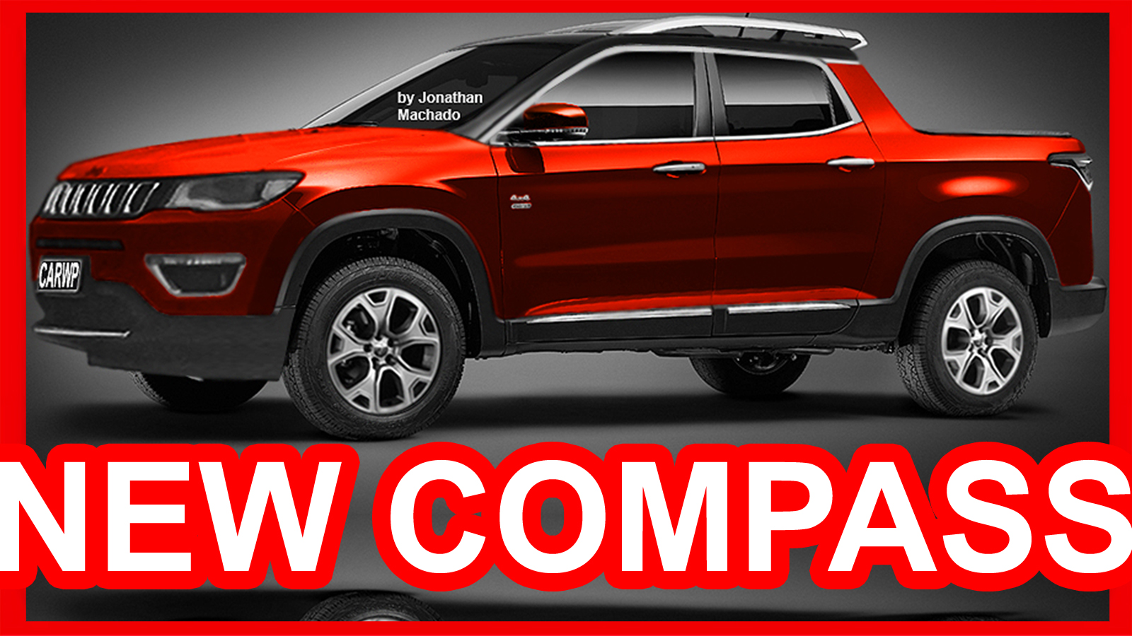 Photoshop new 2018 jeep compass pickup fiat toro jeep carwp