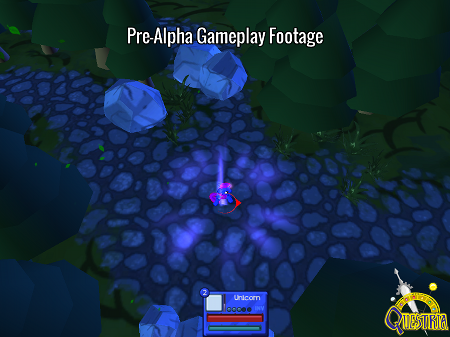 Pre-alpha gameplay footage.