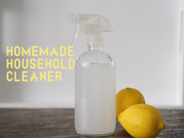 All Natural Cleaner Recipe DIY