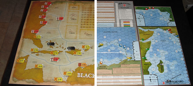 Blackbeard Avalon Hill vs GMT