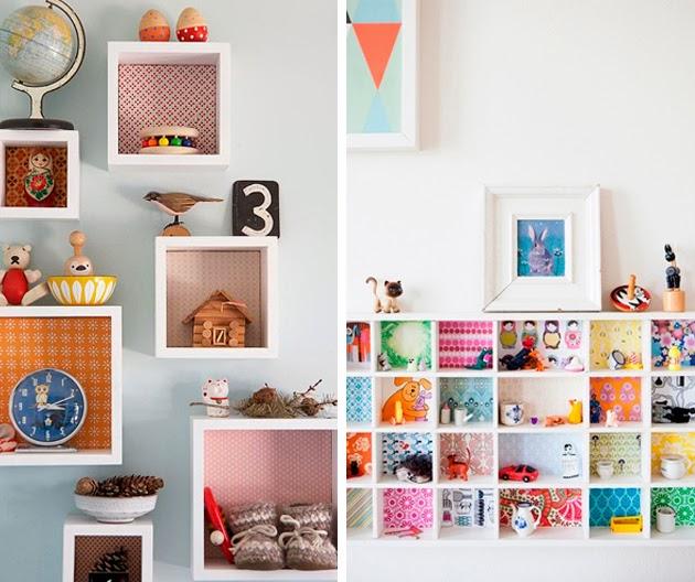 El paso a paso para forrar un mueble con papel pintado for Decorar con papel pintado