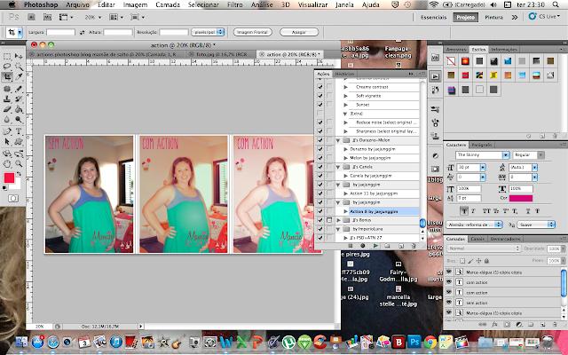 instalando action no photoshop cs5 blog Mamãe de Salto