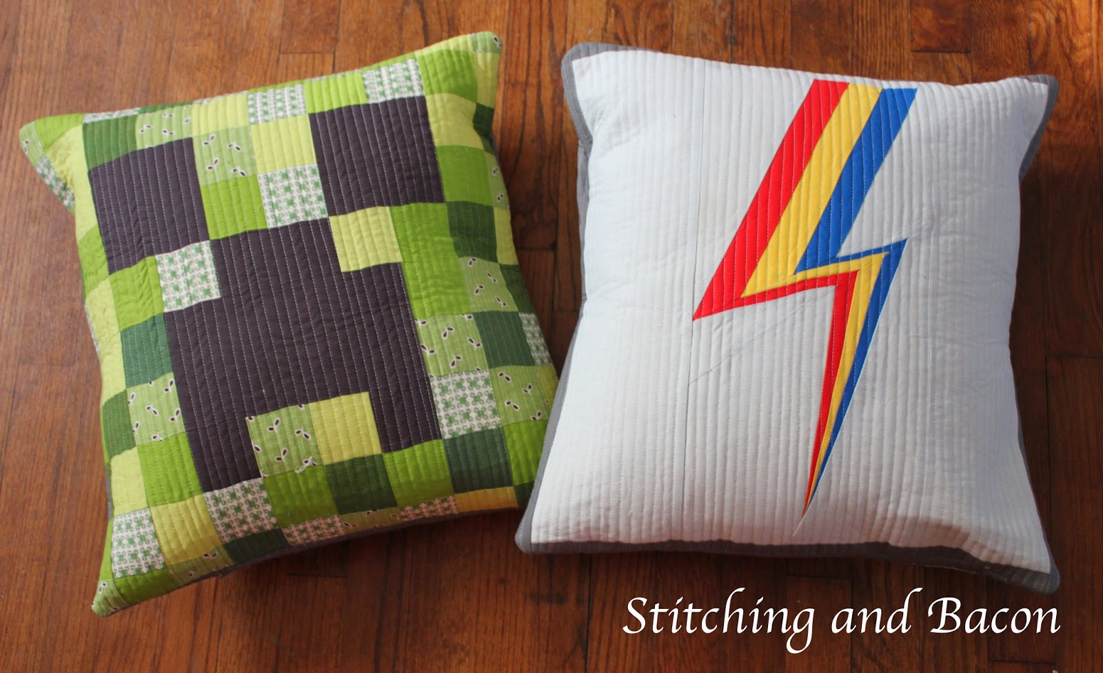 Rainbow Dash and Creeper Pillows