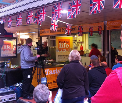 Bolton Love Your Local Market - Cookery Demo