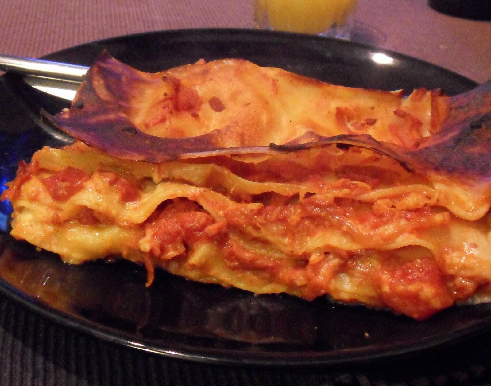 diana 39 s cook blog lasagnes la presque bolognaise sans viande hach e. Black Bedroom Furniture Sets. Home Design Ideas